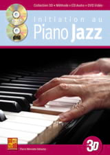 Pierre Minvielle-Sebastia - Initiation to jazz piano in 3D - Sheet Music - di-arezzo.com