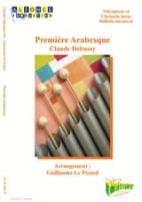 Première arabesque DEBUSSY Partition Vibraphone - laflutedepan.com