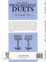Progressive duets volume 1 for trumpet in Bb laflutedepan.com