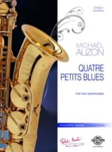 4 petits blues - Michael Alizon - Partition - laflutedepan.com