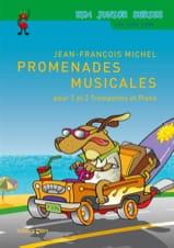 Promenades musicales - Jean-François Michel - laflutedepan.com