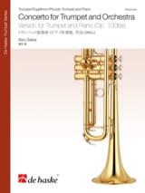 Concerto for trumpet and orchestra Itaru Sakai Partition laflutedepan