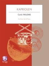 Kapriolen Carlo Willems Partition Batterie - laflutedepan.com