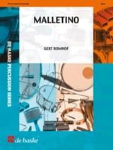 Gert Bomhof - Malletino - Partition - di-arezzo.fr