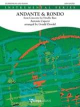 Antonio Capuzzi - Andante & rondo d'après le concerto pour contrebasse - Partition - di-arezzo.fr