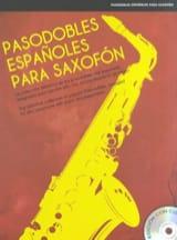 Pasodobles Españoles Para Saxofón Partition laflutedepan.com