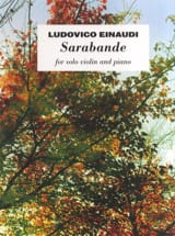 Ludovico Einaudi - Saraband - Sheet Music - di-arezzo.co.uk