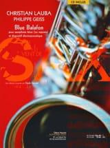 Blue balafon - Lauba Christian / Geiss Philippe - laflutedepan.com