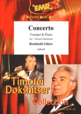 Concerto Reinhold Glière Partition Trompette - laflutedepan.com