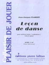 Jean-Jacques Flament - Leçon de danse - Partition - di-arezzo.fr