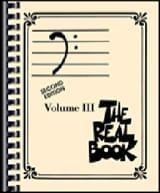 The real book volume 3 - Bass clef edition laflutedepan.com
