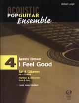 I feel good - Acoustic pop guitar ensemble N°4 laflutedepan.com