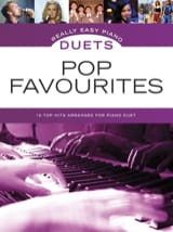 Really easy piano duets - Pop favourites Partition laflutedepan.be
