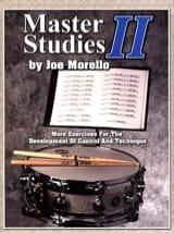 Joe Morello - Master studies II - Sheet Music - di-arezzo.com