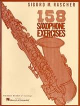 Sigurd M. Rascher - 158 Saxophone exercises - Sheet Music - di-arezzo.co.uk