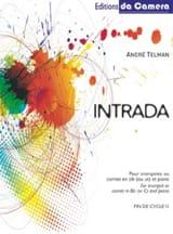 Intrada André Telman Partition Trompette - laflutedepan.com