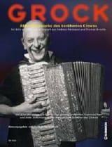 Œuvres d'accordéon du célèbre clown laflutedepan.com