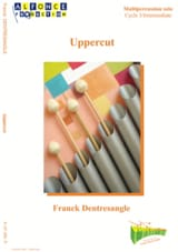 Uppercut - Franck Dentresangle - Partition - laflutedepan.com