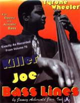 METHODE AEBERSOLD - Bass lines Killer Joe - Aebersold 70 - Sheet Music - di-arezzo.co.uk