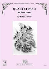 Kerry Turner - Quartet N ° 4 - Sheet Music - di-arezzo.co.uk