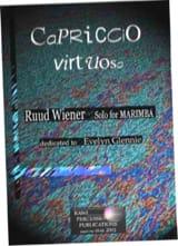 Ruud Wiener - Capriccio virtuoso dédié à Evelyn Glennie - Partition - di-arezzo.fr
