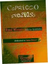 Ruud Wiener - Capriccio grazioso dédié à Kana Omori - Partition - di-arezzo.fr