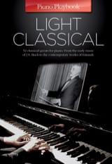Piano Playbook - Light classical Partition Piano - laflutedepan.com