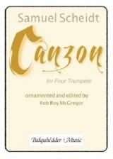 Samuel Scheidt - Canzon - Partition - di-arezzo.fr