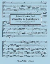 BACH - Christ Lag in Todesbanden - Partition - di-arezzo.fr