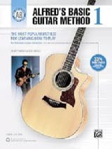 Alfred's Basic Guitar Method Volume 1 laflutedepan