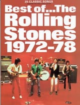 ROLLING STONES - Best Of 1972 - 78 - Partition - di-arezzo.fr