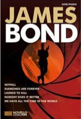 Novello Choral Pops - James Bond Partition Chœur - laflutedepan.com
