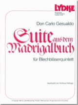 Suite aus dem Madrigalbuch Don Carlo Gesualdo Partition laflutedepan