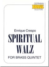 Spiritual Walz Enrique Crespo Partition laflutedepan.com