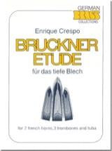 Bruckner Etüde Enrique Crespo Partition laflutedepan.com