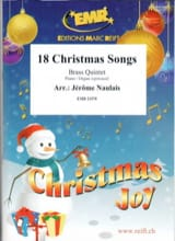 18 Christmas Songs Traditionnel Partition laflutedepan.com