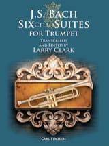 Six Cello Suites For Trumpet BACH Partition Trompette - laflutedepan