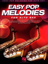 Easy Pop Melodies for Alto Sax Partition laflutedepan.com
