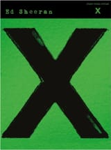 X Ed Sheeran Partition Variétés internationales - laflutedepan.com