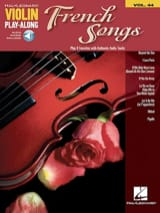 Violin Play-Along Volume 44 French Songs Partition laflutedepan.com
