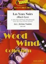 Les Yeux Noirs Traditionnel Partition Saxophone - laflutedepan.com