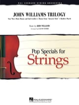 John Williams - John Williams Trilogy - Pop Specials for Strings - Partition - di-arezzo.fr