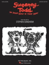 Sweeney Todd - Vocal Score Stephen Sondheim Partition laflutedepan.com