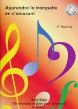 Horst Rapp - Learn the trumpet while having fun Volume 1 - Sheet Music - di-arezzo.com