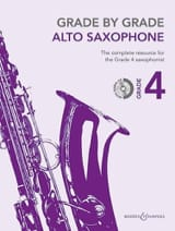 Grade by Grade 4 Partition Saxophone - laflutedepan.com