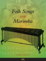 Folk Songs for Marimba Partition Marimba - laflutedepan.com