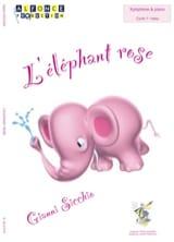 L'éléphant rose Gianni Sicchio Partition Xylophone - laflutedepan.com