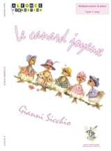 Le canard joyeux Gianni Sicchio Partition laflutedepan.com
