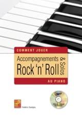 Frédéric Dautigny - Accompaniments - rock 'n' roll solos on piano CD - Sheet Music - di-arezzo.com