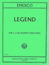 Georges Enesco - Legend - Sheet Music - di-arezzo.co.uk